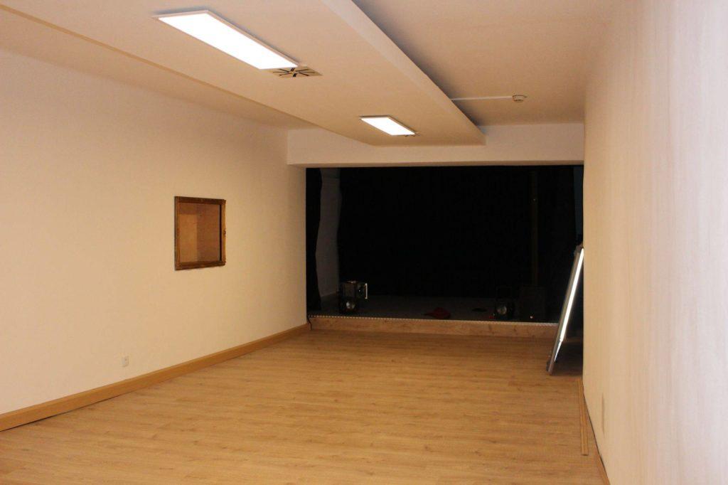 Seminar und Bühnenraum